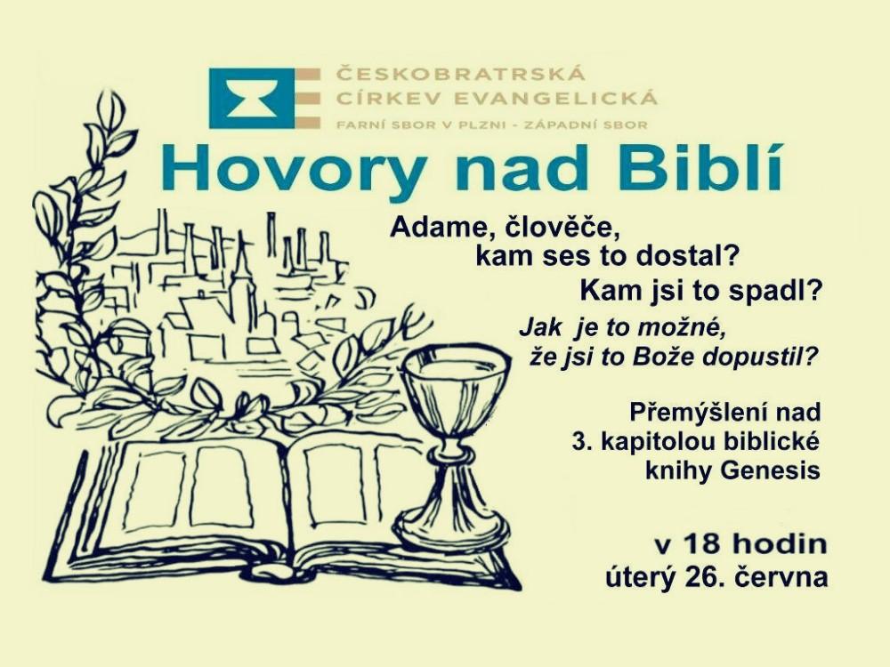 Hovory nad Biblí III. @ Chrám Mistra Jana Husi