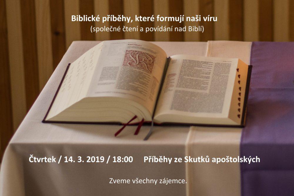Nýřany: Biblické příběhy, které formují naši víru @ Kazatelská stanice Nýřany