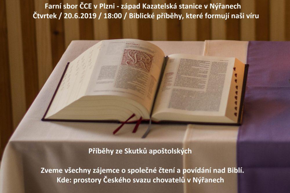 Nýřany: Příběhy ze Skutků apoštolských @ Kazatelská stanice Nýřany